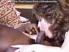 darksome pounder working up white pussy