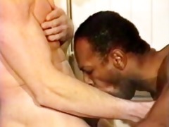 magnificence holes 2 white males black schlongs -