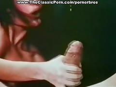 vintage oral-service with cumshot