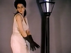 gloves and nylons - vintage nylons striptease
