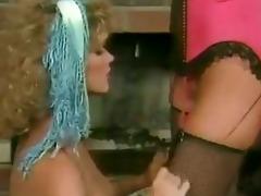 ginger lynn: you like that big dildo!