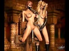 classic bondage artwork