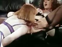 retro lesbian muff play