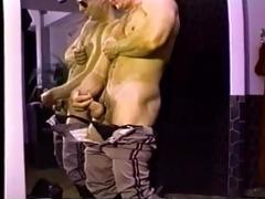 hairy muscle daddy wank