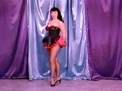 pin-up super star betty page!