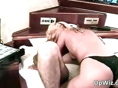blonde non-professional doxy enjoying in part2