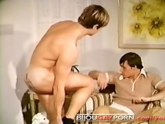 tattooed chap blowjob, 69 & huge cumshot -