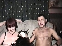 homemade film with mature woman and three males