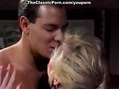golden-haired is lucky to acquire hard fuck