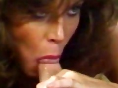 tracey adams retro pornstar kitchen fellatio