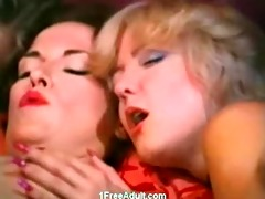 classic oral job and anal sex scene with 3 girls