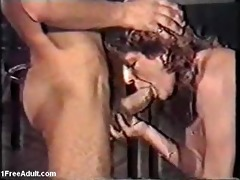 classic german scene- older giving oral-sex and