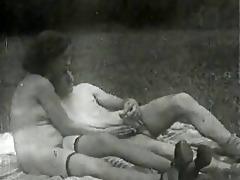 vintage large natural titts