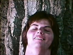vintage outdoors fucking - classic bareback film