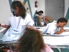 vintage porno setting in the hospital with hot