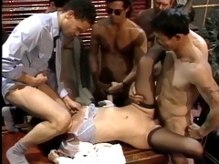 tina tyler gangbang. lots of sperm to finish!