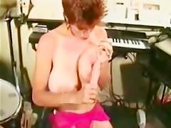 busty retro hottie fucking