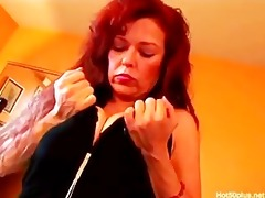classic redhaired mature cougar