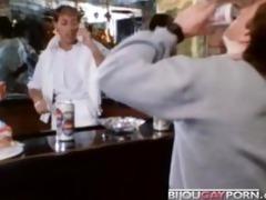 80s porn - boyz fuck at a party & voyeur
