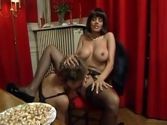 chipy marlow & jade in sexy french fuckfest