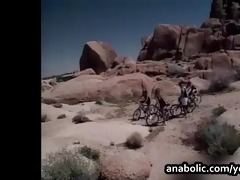 francesca receives fucked hard on the rocks