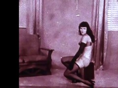 betties rumble - vintage nylons tease (non nude)