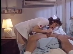 peter north gets a blowjob in a hospital