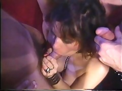 vintage milf takes multiple dongs - gentlemens