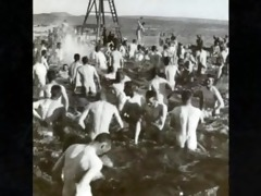 collection of spycam clips of wwii soldiers ~