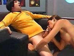 space ship vintage lustful blowjob masters