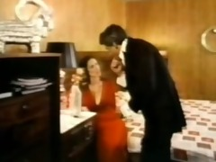old school kay parker copulates the waiter