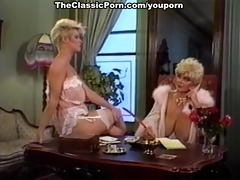 cock worshipped by retro breasty hotty