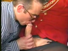 vintage shemale sucks knob and fucks her lover