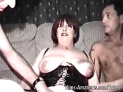 homemade film with mature woman and fellows
