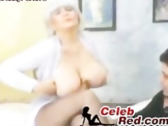 breasty retro glamour woman fucked