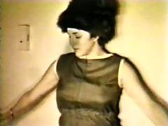 vintage woman strip