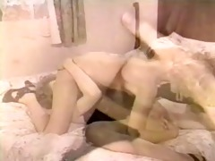 dirty retro twin sisters in a hot lesbo act