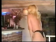 getting lucky at the bar with large boobed lynn