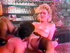 breasty whore fuck in the night bar