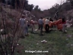 a group of people have enjoyment