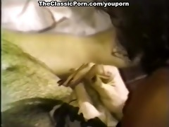 ribald scenes of sexual three-some