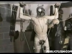 vintage gay bondage and cbt
