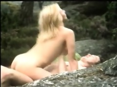 beautiful retro outdoor fucking