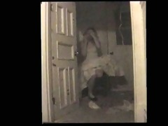 disoriented slut trapped in closet