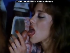 dynamic retro movie scene with sexy lady