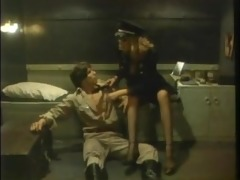 hot stuff - nazi female captain fucks guy -