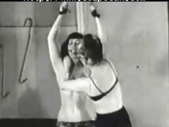 betty page fastened up and spanked
