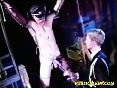 vintage leather gay servitude