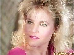 hot blond gal having sex on sofa