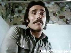 vintage porn 1970s - classic german interracial